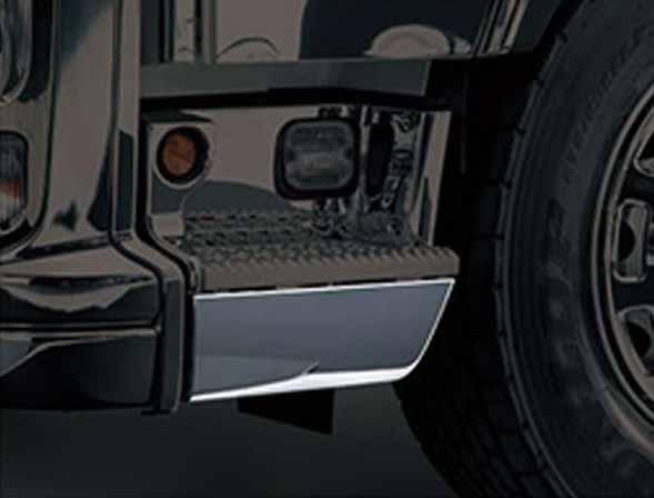 『ギガ』 純正 2PG-CYL77C-VX-~ メッキステップアンダーカバーセット パーツ いすゞ純正部品 オプション アクセサリー 用品