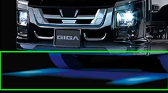『ギガ』 純正 2PG-CYL77C-VX-~ ステップアンダーイルミネーション 左右セット パーツ いすゞ純正部品 オプション アクセサリー 用品