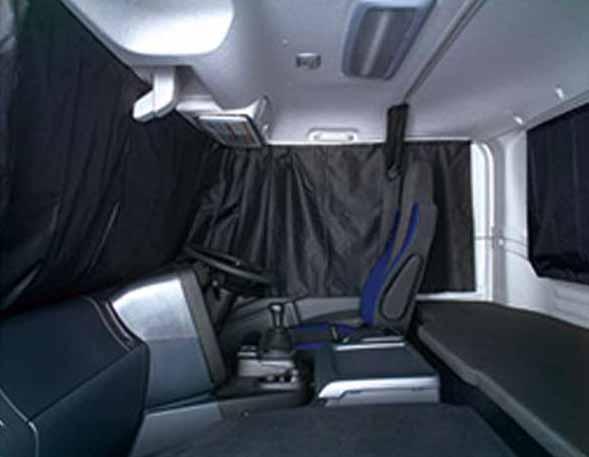 『ギガ』 純正 2PG-CYL77C-VX-~ 遮光カーテン ※生地遮光率100.0% バック部 パーツ いすゞ純正部品 オプション アクセサリー 用品