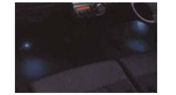 『タント』 純正 L375S L385S L575S L585S フロアイルミネーション(LED)フロント用 パーツ ダイハツ純正部品 照明 ライト フットライト tanto オプション アクセサリー 用品