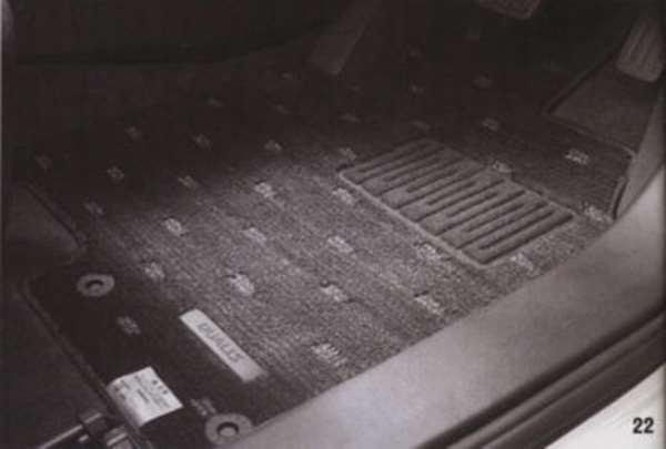 『デュアリス』 純正 KJ10 KNJ10 フロアカーペット パーツ 日産純正部品 DUALIS オプション アクセサリー 用品