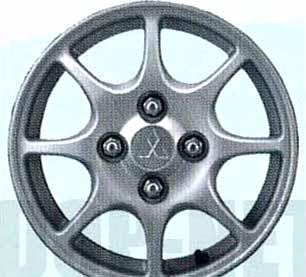 『ミニカ』 純正 H47 H42 アルミホイール 1本のみ (8本スポーク) パーツ 三菱純正部品 安心の純正品 MINICA オプション アクセサリー 用品