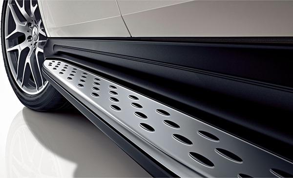 『GLE』 純正 LDA CBA ランニングボード SUV用 パーツ ベンツ純正部品 オプション アクセサリー 用品