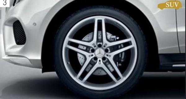 『GLE』 純正 LDA CBA AMG 21インチアルミホイール(フロント、リア用) パーツ ベンツ純正部品 安心の純正品 オプション アクセサリー 用品