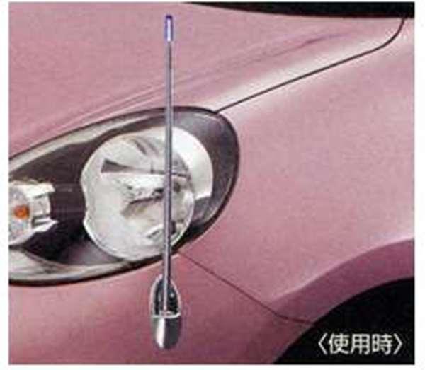 『マーチ』 純正 K13 電動格納式ネオンコントロール 本体+昇降スイッチ パーツ 日産純正部品 コーナーポール フェンダーランプ フェンダーライト MARCH オプション アクセサリー 用品