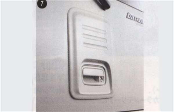 『アトレー』 純正 S321G S331G バックドアスムージングパネル パーツ ダイハツ純正部品 atrai オプション アクセサリー 用品