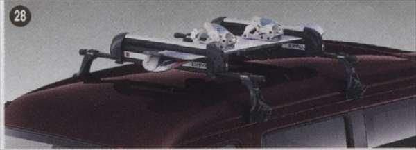 『アトレー』 純正 S321G S331G スキー/スノーボードアタッチメント(平積) パーツ ダイハツ純正部品 キャリア別売り atrai オプション アクセサリー 用品