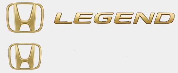 『レジェンド』 純正 KC2 ゴールドエンブレム パーツ ホンダ純正部品 ドレスアップ ワンポイント LEGEND オプション アクセサリー 用品