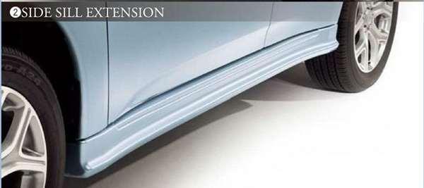 『アウトランダー』 純正 GG2W サイドシルエクステンション パーツ 三菱純正部品 outlander オプション アクセサリー 用品