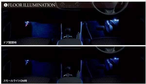 『アウトランダー』 純正 GG2W フロアイルミネーション パーツ 三菱純正部品 outlander オプション アクセサリー 用品