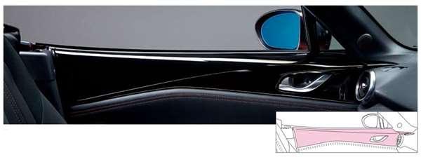 『ロードスター』 純正 ND5RC ドアアッパートリム ドア用 パーツ マツダ純正部品 Roadster オプション アクセサリー 用品