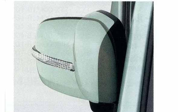 『スペーシア』 純正 MK32S リモート格納ミラー パーツ スズキ純正部品 ドアミラー自動格納 セキュリティー spacia オプション アクセサリー 用品
