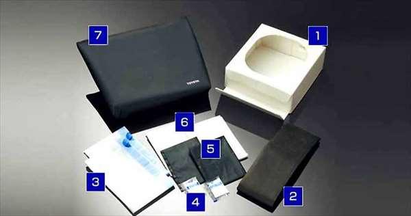 『エスティマハイブリッド』 純正 GFXZB GFXVB GFXPB GFXSB GRXSB 携帯トイレ(簡易セット) パーツ トヨタ純正部品 estima オプション アクセサリー 用品