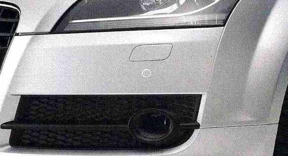 TT・TTS パーツ コーナーセンサー(フロント) アウディ純正部品 8JCDA 8JCESF 8JCDLF 8JCEPF オプション アクセサリー 用品 純正 センサ 送料無料