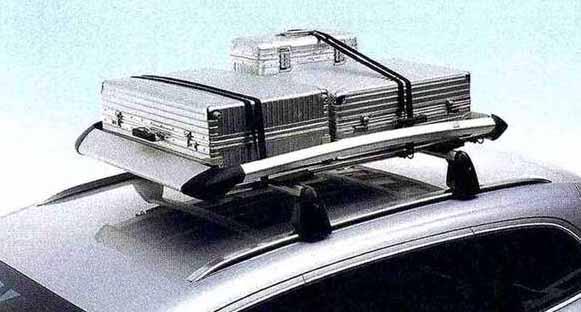 TT・TTS パーツ ラゲッジラック アウディ純正部品 8JCDA 8JCESF 8JCDLF 8JCEPF オプション アクセサリー 用品 純正 送料無料