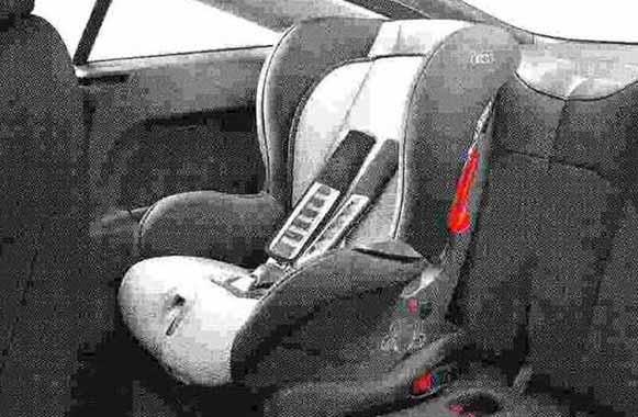 TT・TTS パーツ AudiチャイルドシートISO FIX(G1) アウディ純正部品 8JCDA 8JCESF 8JCDLF 8JCEPF オプション アクセサリー 用品 純正 送料無料