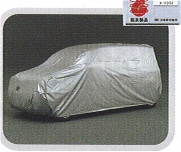 『シエンタ』 純正 NCP85 カーカバー防炎タイプ(ドアミラー用) パーツ トヨタ純正部品 ボディカバー ボディーカバー 車体カバー sienta オプション アクセサリー 用品
