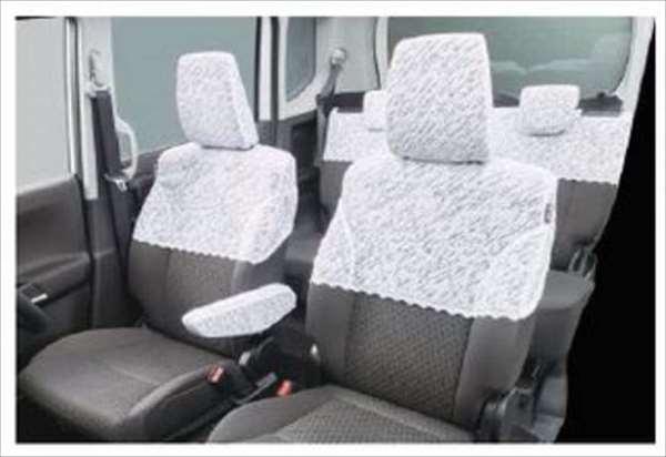 『ソリオ』 純正 MA36S レースハーフカバー パーツ スズキ純正部品 座席カバー 汚れ シート保護 solio オプション アクセサリー 用品