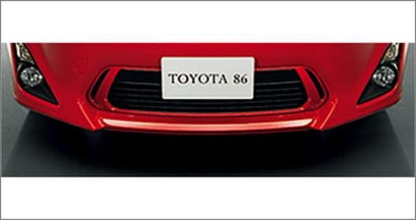 『86』 純正 ZN6 フロントグリル パーツ トヨタ純正部品 オプション アクセサリー 用品