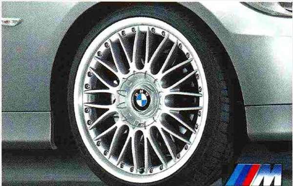 3 COUPE・CABRIOLET パーツ Mクロススポーク・スタイリング・コンポジット101のホイール単体 8J×19(フロント) BMW純正部品 KE25 KD20 KE25 KG35 DX35 オプション アクセサリー 用品 純正 送料無料