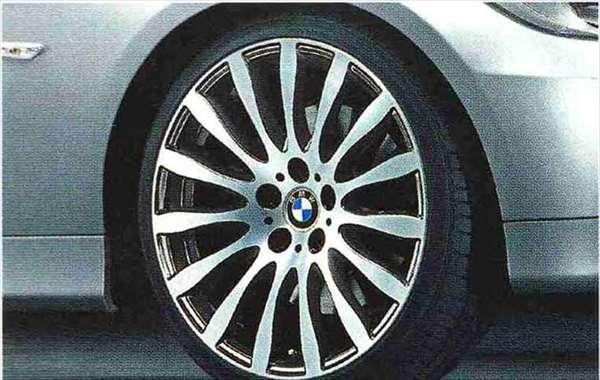 3 COUPE・CABRIOLET パーツ ラジアルスポーク・スタイリング190のホイール単体 9J×19(リヤ) BMW純正部品 KE25 KD20 KE25 KG35 DX35 オプション アクセサリー 用品 純正 送料無料