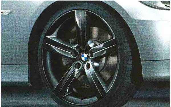 3 COUPE・CABRIOLET パーツ スタースポーク・スタイリング199(ブラック)のコンプリート・セット 225/35R19(フロント)、255/30R19(リヤ) BMW純正部品 KE25 KD20 KE25 KG35 DX35 オプション アクセサリー 用品 純正 送料無料