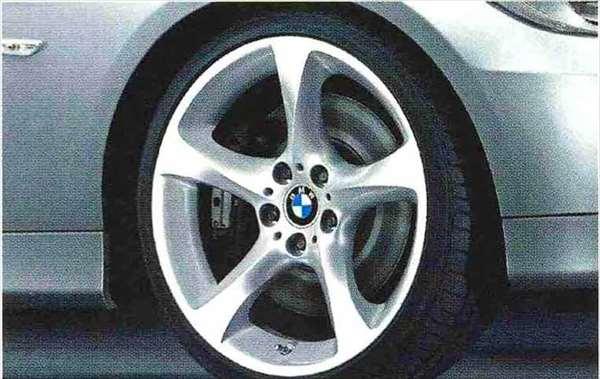 3 COUPE・CABRIOLET パーツ スタースポーク・スタイリング230のホイール単体 9J×19(リヤ) BMW純正部品 KE25 KD20 KE25 KG35 DX35 オプション アクセサリー 用品 純正 送料無料
