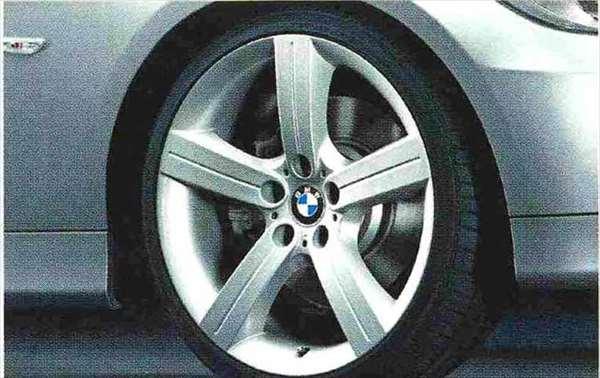 3 COUPE・CABRIOLET パーツ スタースポーク・スタイリング199のホイール単体 9J×19(リヤ) BMW純正部品 KE25 KD20 KE25 KG35 DX35 オプション アクセサリー 用品 純正 送料無料