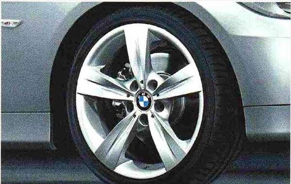 3 COUPE・CABRIOLET パーツ スタースポーク・スタイリング287のホイール単体 8.5J×18(リヤ) BMW純正部品 KE25 KD20 KE25 KG35 DX35 オプション アクセサリー 用品 純正 送料無料
