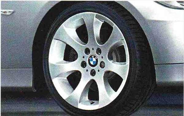 3 COUPE・CABRIOLET パーツ エリプソイドスポーク・スタイリング162のコンプリート・セット 225/40R18(フロント)、255/35R18(リヤ) BMW純正部品 KE25 KD20 KE25 KG35 DX35 オプション アクセサリー 用品 純正 送料無料