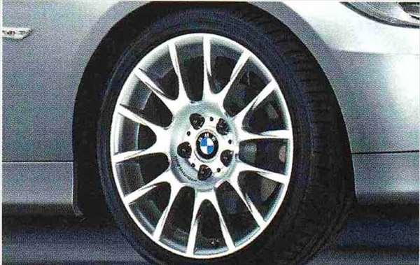 3 COUPE・CABRIOLET パーツ ラジアルスポーク・スタイリング216のコンプリート・セット 225/40R18(フロント)、255/35R18(リヤ) BMW純正部品 KE25 KD20 KE25 KG35 DX35 オプション アクセサリー 用品 純正 送料無料