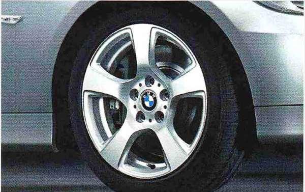 3 COUPE・CABRIOLET パーツ スタースポーク・スタイリング157のホイール単体 8J×17(フロント/リヤ) ※セットではありません BMW純正部品 KE25 KD20 KE25 KG35 DX35 オプション アクセサリー 用品 純正 送料無料