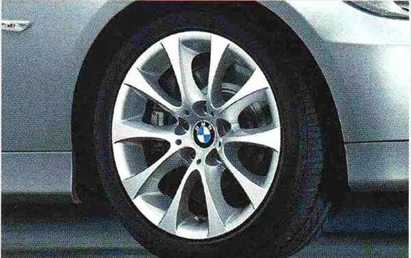 3 COUPE・CABRIOLET パーツ Vスポーク・スタイリング188のホイール単体 8.5J×17(リヤ) BMW純正部品 KE25 KD20 KE25 KG35 DX35 オプション アクセサリー 用品 純正 送料無料