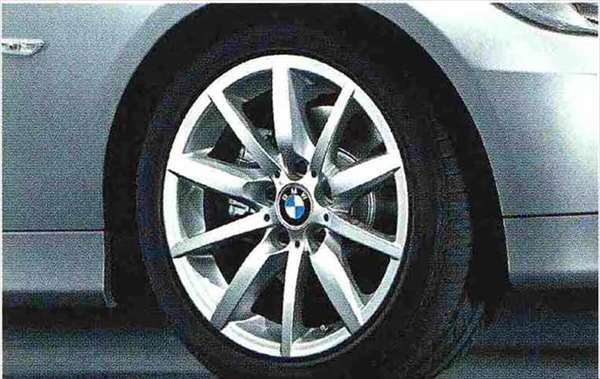 3 COUPE・CABRIOLET パーツ スタースポーク・スタイリング286のホイール単体 8J×17(フロント) BMW純正部品 KE25 KD20 KE25 KG35 DX35 オプション アクセサリー 用品 純正 送料無料