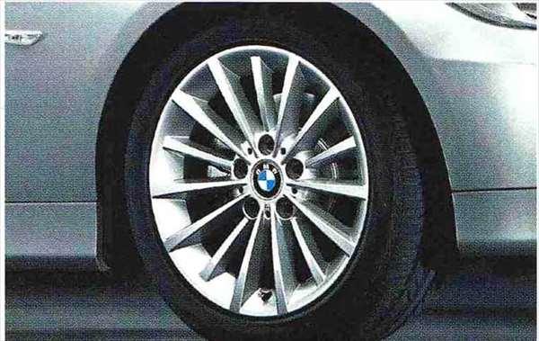 3 COUPE・CABRIOLET パーツ マルチスポーク・スタイリング284のホイール単体 8J×17(フロント/リヤ) ※セットではありません BMW純正部品 KE25 KD20 KE25 KG35 DX35 オプション アクセサリー 用品 純正 送料無料
