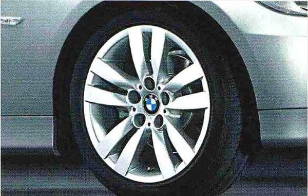 3 COUPE CABRIOLET パーツ ダブルスポーク スタイリング161のホイール単体 8.5J×17 リヤ BMW純正部品 新作 KE25 純正 用品 新生活 KG35 送料無料 DX35 オプション KD20 アクセサリー