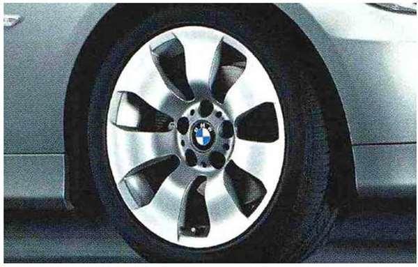 3 COUPE・CABRIOLET パーツ スタースポーク・スタイリング158のホイール単体 8J×17(フロント/リヤ) ※セットではありません BMW純正部品 KE25 KD20 KE25 KG35 DX35 オプション アクセサリー 用品 純正 送料無料