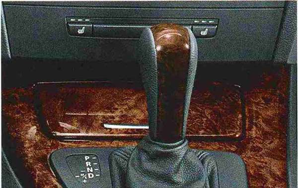 "3 COUPE・CABRIOLET パーツ ウッド&レザー・セレクター・レバー・グリップ""バール・ウォールナット"" BMW純正部品 KE25 KD20 KE25 KG35 DX35 オプション アクセサリー 用品 純正 ウッド"