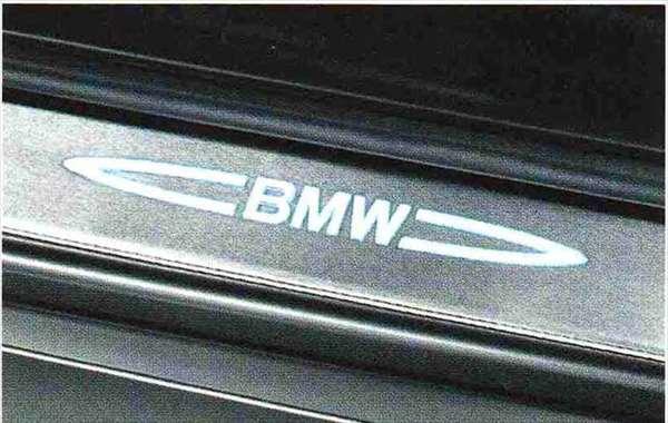 3 COUPE・CABRIOLET パーツ イルミネーテッド・エントランス・カバー・セット BMW純正部品 KE25 KD20 KE25 KG35 DX35 オプション アクセサリー 用品 純正 カバー 送料無料