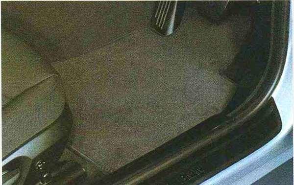 """3 COUPE・CABRIOLET パーツ フロア・マット・セット""""ベロア"""" アンソラジットのカブリオレ用 BMW純正部品 KE25 KD20 KE25 KG35 DX35 オプション アクセサリー 用品 純正 マット"""