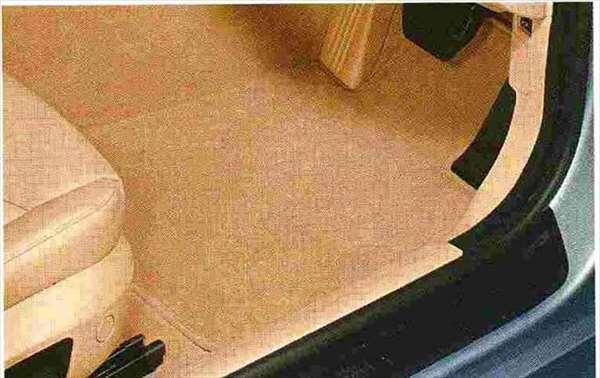 "3 COUPE・CABRIOLET パーツ フロア・マット・セット""ベロア"" ベージュのクーペ用 BMW純正部品 KE25 KD20 KE25 KG35 DX35 オプション アクセサリー 用品 純正 マット"