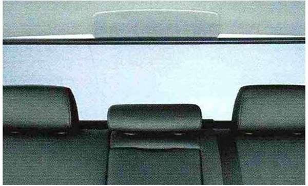 3 COUPE・CABRIOLET パーツ リヤ・ウインドー・ローラー・ブラインド BMW純正部品 KE25 KD20 KE25 KG35 DX35 オプション アクセサリー 用品 純正