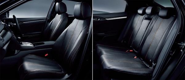 『シビック』 純正 FK7 FC1 シートカバー フルタイプ(合皮製/フロント・リアセット) パーツ ホンダ純正部品 座席カバー 汚れ シート保護 オプション アクセサリー 用品