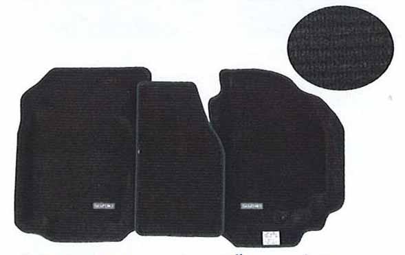 『ラパン』 純正 HE21 フロアマット・ジュータン スプレッド パーツ スズキ純正部品 フロアカーペット カーマット カーペットマット lapin オプション アクセサリー 用品