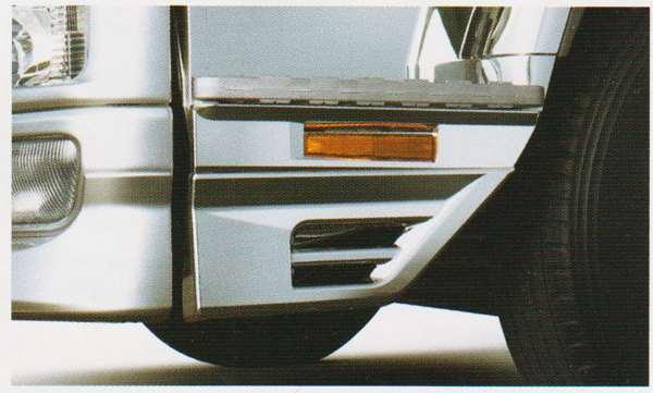 ファイター パーツ ステップスカートエクステンションのナチュラルホワイト 三菱ふそう純正部品 FK71 FK61 FK72 FK62 オプション アクセサリー 用品 純正