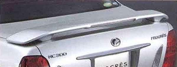 『プログレ』 純正 JCG10 リヤスポイラー 本体 ※廃止カラーは弊社で塗装 パーツ トヨタ純正部品 ルーフスポイラー リアスポイラー progres オプション アクセサリー 用品
