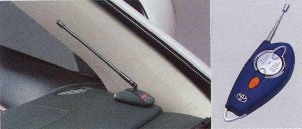 『ランクス』 純正 NZE121 NZE124 リモートスタート本体スタンダード・非多重イモビ パーツ トヨタ純正部品 ワイヤレス エンジンスターター 無線 runx オプション アクセサリー 用品