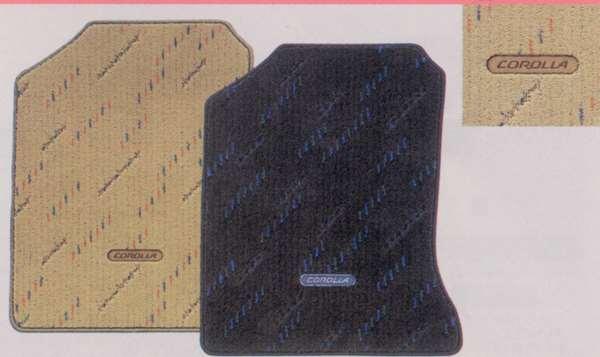 『カローラセダン』 純正 NZE20 フロアマットデラックスタイプ パーツ トヨタ純正部品 フロアカーペット カーマット カーペットマット corolla オプション アクセサリー 用品