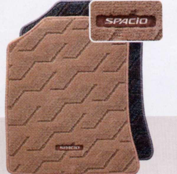 『スパシオ』 純正 NZE121 フロアマットデラックスタイプ パーツ トヨタ純正部品 フロアカーペット カーマット カーペットマット spacio オプション アクセサリー 用品