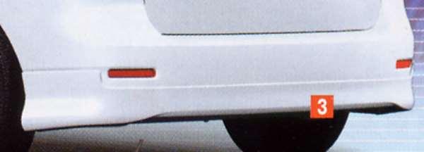 『スパシオ』 純正 NZE121 リヤバンパースポイラー パーツ トヨタ純正部品 spacio オプション アクセサリー 用品